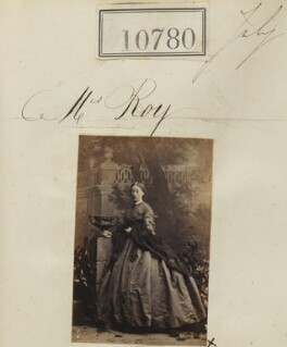 Grace Roy (née Hallewell), by Camille Silvy - NPG Ax60487