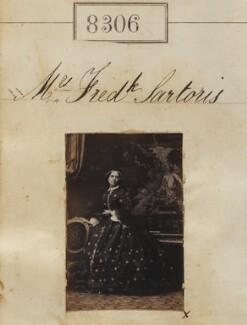 Mary Anne Sartoris (née Pratt), by Camille Silvy - NPG Ax58125