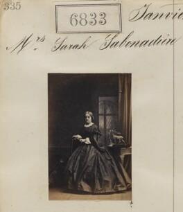 Sarah Henrietta Sabonadiere (née Portal), by Camille Silvy - NPG Ax56756
