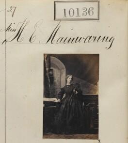 Henrietta Elizabeth (née Mainwaring), Lady Brooke, by Camille Silvy - NPG Ax59851