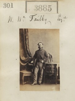 William Ward Tailby, by Camille Silvy - NPG Ax53272