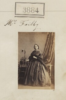 Mary Tailby (née Taylor), by Camille Silvy - NPG Ax53271