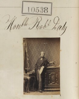 Hon. Robert Daly, by Camille Silvy - NPG Ax60252
