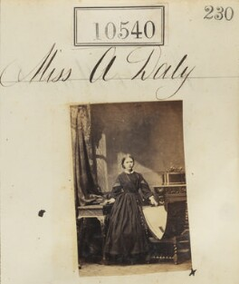 Alice Rosa Colville (née Daly), by Camille Silvy - NPG Ax60254