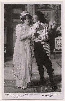 Denise Orme as Illyrine and Robert Evett as Dorlis in 'The Merveilleuses', published by Rotary Photographic Co Ltd - NPG x139932