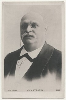 Émile Waldteufel, published by Rotary Photographic Co Ltd - NPG x139937