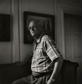 Randolph Frederick Edward Spencer Churchill, by Ida Kar - NPG x139957