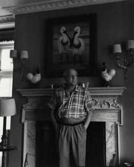 Randolph Frederick Edward Spencer Churchill, by Ida Kar - NPG x139959