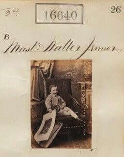 Sir Walter Kentish William Jenner, 2nd Bt, by Camille Silvy - NPG Ax64542