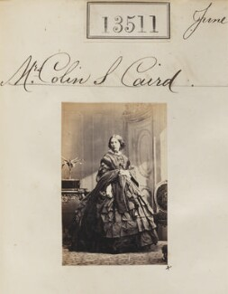 Jane H. Caird (née Paterson), by Camille Silvy - NPG Ax63144