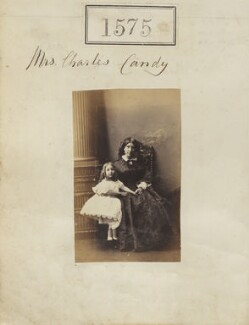 Margaret Helena Marie Curtis (née Candy); Margaret Candy (née Papineau), by Camille Silvy - NPG Ax50969
