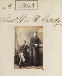 (Charles) Percy Frank Candy; Henry Augustus Candy, by Camille Silvy - NPG Ax63874