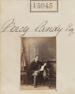 (Charles) Percy Frank Candy, by Camille Silvy - NPG Ax63875