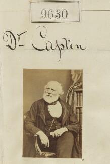 Jean François Isidore Caplin, by Camille Silvy - NPG Ax59368