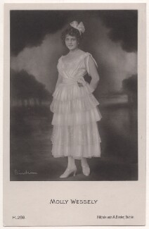 Molly Wessely, by Binder (Alexander Binder), published by  Photochemie - NPG x139943