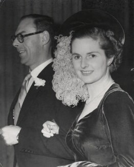 Sir Denis Thatcher, 1st Bt; Margaret Thatcher, by Keystone Press Agency Ltd - NPG x139971