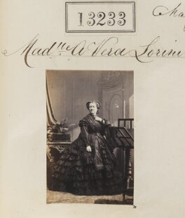 Sophie Vera-Lorini, by Camille Silvy - NPG Ax62866