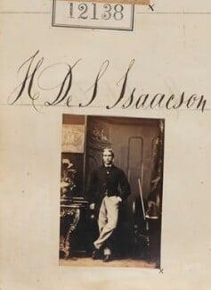 Henry de Stuteville Isaacson, by Camille Silvy - NPG Ax61810