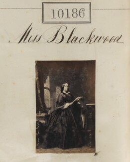 Isabella Blackwood, by Camille Silvy - NPG Ax59901