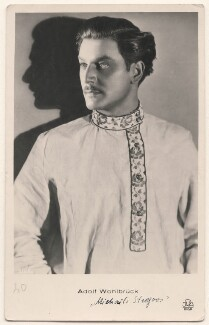 Anton Walbrook as Michael Strogoff in 'The Czar's Courier', by JDA, Riga - NPG x139950