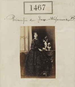 Princess Augusta Katherine Saxe-Weimar, by Camille Silvy - NPG Ax50864