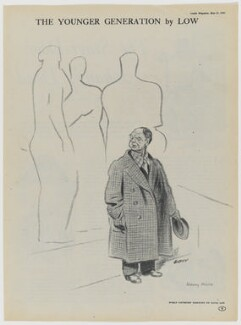 Henry Moore, after Sir David Low - NPG D43335