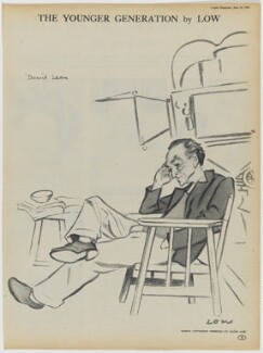 Sir David Lean, after Sir David Low - NPG D43337