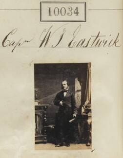 William Joseph Eastwick, by Camille Silvy - NPG Ax59748