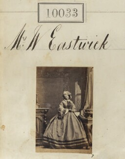 Mary Ann Heywood Eastwick (née Cotes), by Camille Silvy - NPG Ax59747