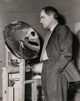 Henry Moore, by Sport & General Press Agency Ltd - NPG x182388