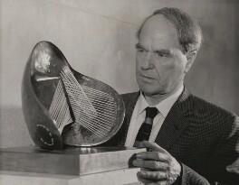 Henry Moore, by Associated Press - NPG x182389