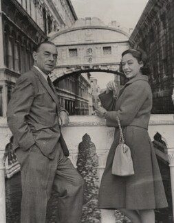 Erich Maria Remarque; Paulette Goddard, by United Press International - NPG x182404