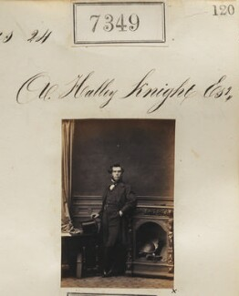 Andrew Halley Knight, by Camille Silvy - NPG Ax57259