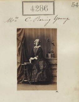 Elizabeth Young (née Winthrop), by Camille Silvy - NPG Ax54301