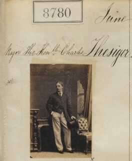 Hon. Charles Wemyss Thesiger, by Camille Silvy - NPG Ax58603