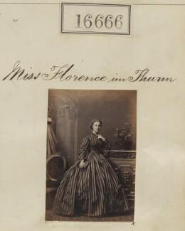 Florence Ellen Siordet (née im Thurn), by Camille Silvy - NPG Ax64564