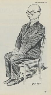 Sir John Knewstub Maurice Rothenstein, after Sir David Low - NPG D43344