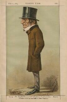 William Ewart Gladstone, by Carlo Pellegrini - NPG D43365