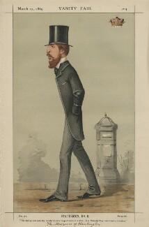 Spencer Compton Cavendish, 8th Duke of Devonshire ('Statesmen, No. 8.'), by Carlo Pellegrini - NPG D43372