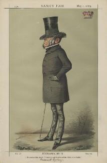John Robert Townshend, 1st Earl Sydney; ('Statesmen, No. 13'), by Carlo Pellegrini - NPG D43377