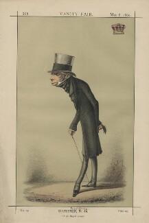 Henry George Grey, 3rd Earl Grey; ('Statesmen, No. 14.