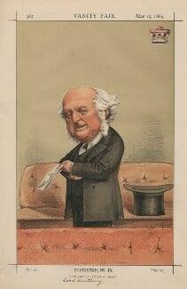 Richard Bethell, 1st Baron Westbury, by Carlo Pellegrini - NPG D43379