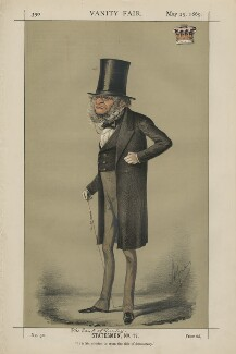 Edward Stanley, 14th Earl of Derby ('Statesmen, No. 17.