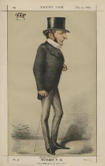 Hugh McCalmont Cairns, 1st Earl Cairns ('Statesmen, No. 26.'), by Carlo Pellegrini - NPG D43390