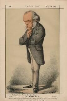 Henry Austin Bruce, 1st Baron Aberdare (Statesmen, No. 29.'), by Carlo Pellegrini - NPG D43393