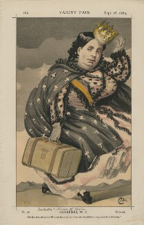 Queen Isabella II of Spain ('Sovereigns, No. 2.'), by James Jacques Tissot - NPG D43397