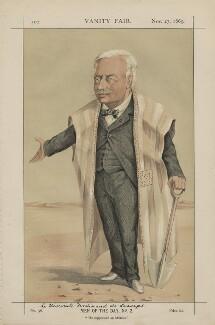 Ferdinand Marie, Vicomte de Lesseps ('Men of the Day, No. 2.'), by Unknown artist - NPG D43407