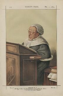 Sir Alexander James Edmund Cockburn, 12th Bt. ('Judges No. 1.'), by Carlo Pellegrini - NPG D43409