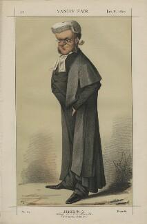 Sir William Bovill ('Judges No. 3.'), by Carlo Pellegrini - NPG D43413