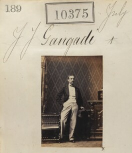 James John Gangadi, by Camille Silvy - NPG Ax60089